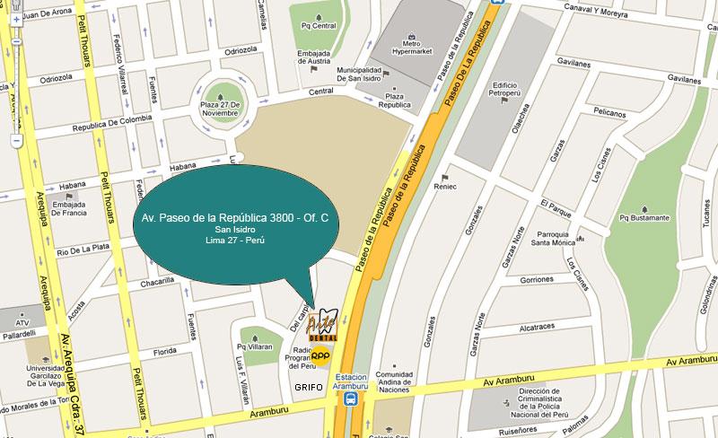av republica mapa Arte Dental   Ciencia y Arte en su Sonrisa av republica mapa